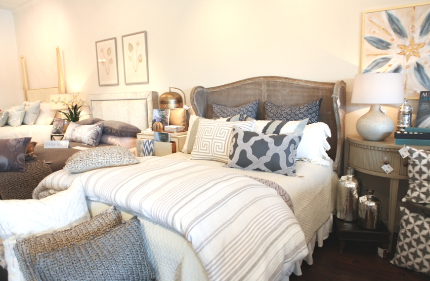 neutral bedding modern blocks