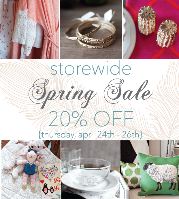 Feather Your Nest - Spring Sale