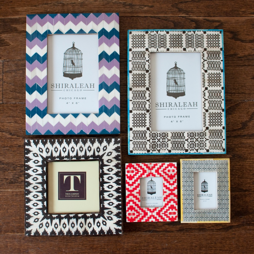 Feather Your Nest - Picture Frames