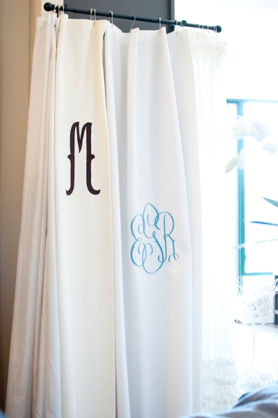 Feather Your Nest - Matouk Shower Curtain